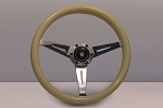 Nardi Marine Steering Wheel - Ivory Plastic Grip w/ Polished Spokes - Part # 7061.36.3000