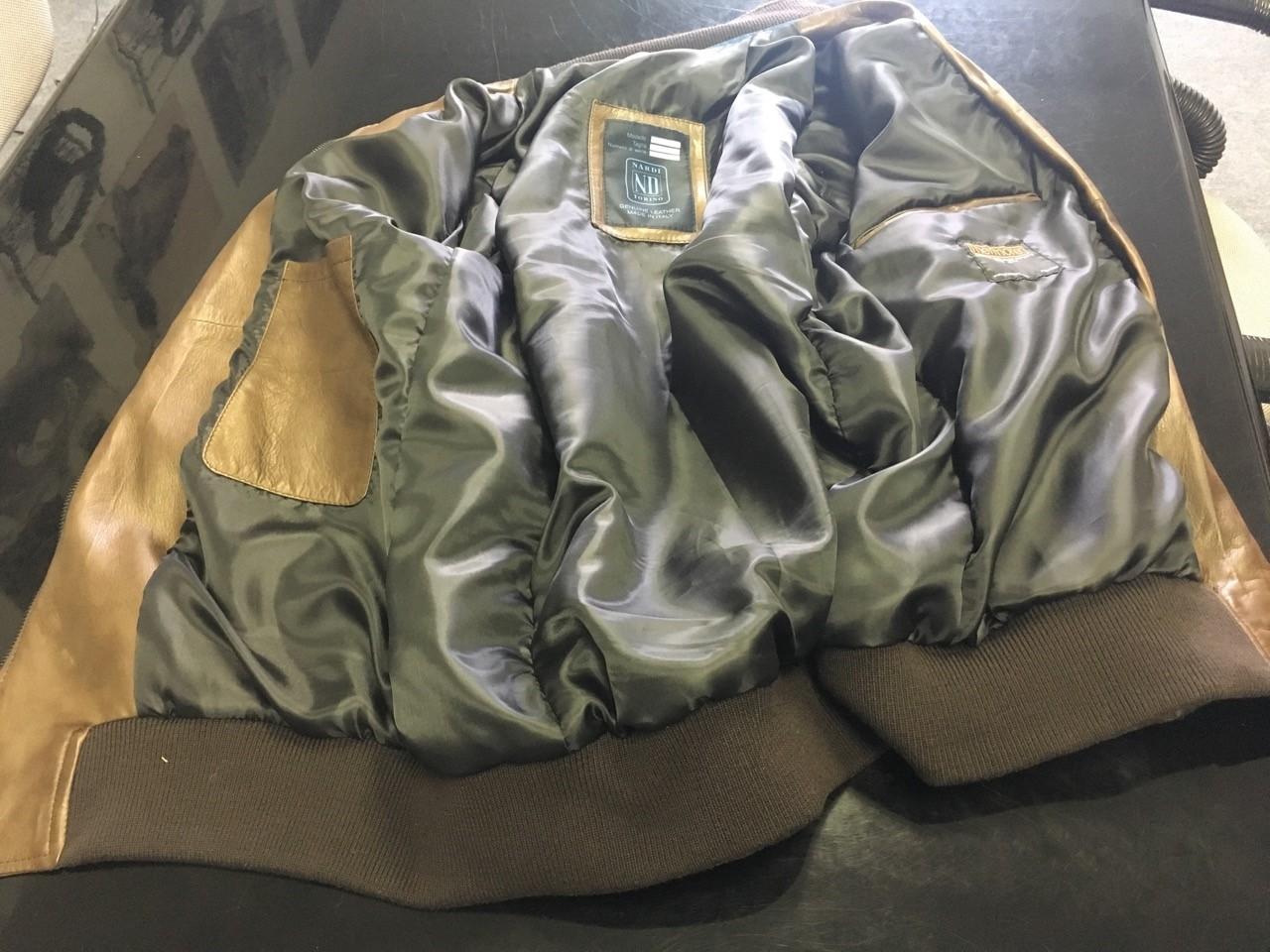 89afc8efa Nardi Thermore Insulated Genuine Lamb Leather Zippered Jacket - Black -  Size 56 (Italian) - Part # 0505.56.0001