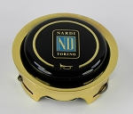 Nardi Gold Steering Wheel Horn Button - Single Contact