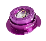 NRG Gen 2.5 Quick Release Kit - Purple Body / Purple Ring with Paddles - Part # SRK-250PP