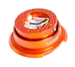 NRG Gen 2.8 Quick Release Kit - Orange Body / Orange Ring with Diamond Cut Paddles - Part # SRK-280OR