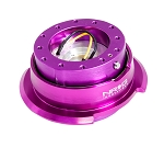 NRG Gen 2.8 Quick Release Kit - Purple Body / Purple Ring with Diamond Cut Paddles - Part # SRK-280PP