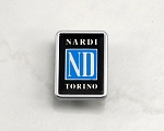 Nardi Replacement Logo for Mazda OEM Steering Wheel - 16mm x 22mm - Part # 4041.06.0023
