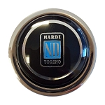 Nardi Steering Wheel Horn Button -Classic - Black with Nardi