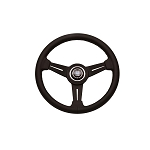 Nardi Steering Wheel - Classic - 330 mm Black Leather / Black Spoke