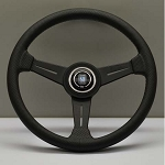 Nardi Classic Steering Wheel 340 mm Black Perf. Leather with Grey Stitching