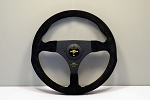 Personal Steering Wheel - Formula Racing - 320 mm Black Suede - Drilled