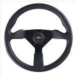 Personal Steering Wheel - Grinta - 350 mm - Black Polyurethane