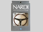 Nardi Classic Steering Wheel Keychain - Black Spokes - Part # 0508.01.0102