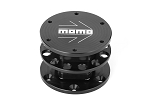 MOMO Steering Wheel Quick Release - Black - Part # QRMOMOBKBK