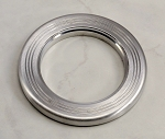 Nardi Horn Button Trim Ring - Satin Aluminum - Part # 4041.21.0903