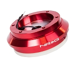 NRG Short Steering Wheel Hub Adapter - Acura TL RSX / Honda Accord Civic S2000 - Red - Part # SRK-130H-RD