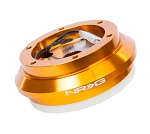 NRG Short Steering Wheel Hub Adapter - Acura TL RSX / Honda Accord Civic S2000 - Rose Gold - Part # SRK-130H-RG