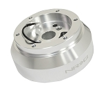 NRG Short Steering Wheel Hub Adapter - Chevrolet Chevy Dodge GM Jeep - Silver - Part # SRK-170H-SSL