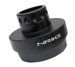 NRG Short Steering Wheel Hub Adapter - Yamaha YXZ Honda Pioneer - Part # SRK-YXZH