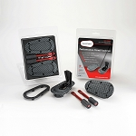 AeroCatch Plus Flush Hood Latch and Pin Kit - Black Carbon Fiber Look - 120-3000