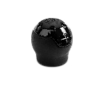 MOMO Shift Knob - Nero Reverse - Black Leather