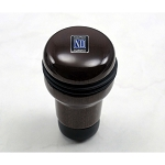 Nardi Shift Knob - Evolution - Dark Mahogany Wood - Part # 3200.00.5006