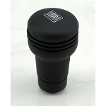 Nardi Shift Knob - Evolution - Black Leather - Part # 3202.00.0100