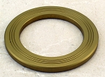 Nardi Horn Button Trim Ring - Anodized Gold - Brand NEW - Part # 4041.18.1102