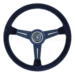 Nardi Steering Wheel - Classic - 330 mm Black Suede / Black Spoke