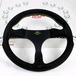 Personal Steering Wheel - Formula Racing - 290 mm Black Suede - Undrilled