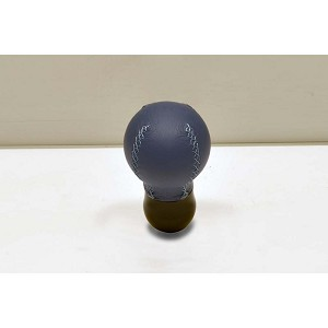 Personal Shift Knob - Ball - Blue Leather - New