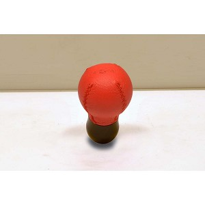 Personal Shift Knob - Ball - Red Leather - New
