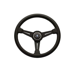 Nardi Steering Wheel - Classic - 360 mm Black Leather / Black Spoke