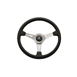 Nardi 390 mm Classic Steering Wheel - Black / Polished