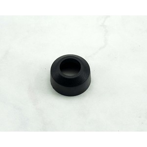 Nardi Gear Shift (Shifter) Knob Base (Collar) - Black Rubber - Short (Approximately 16.3mm Tall) - Part # 3806.00.2320