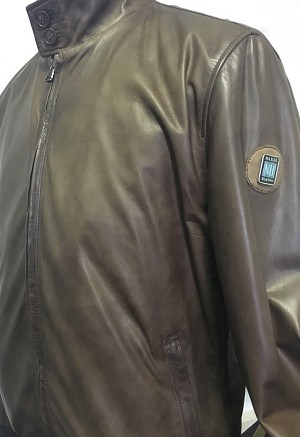 Nardi Thermore Insulated Genuine Lamb Leather Zippered Jacket - Black - Size 48 (Italian) - Part # 0505.48.0001