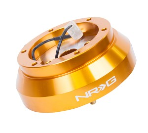 NRG Short Steering Wheel Hub Adapter - Nissan Altima 200SX 300ZX 240SX - Rose Gold - Part # SRK-140H-RG
