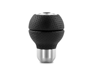 MOMO Shift Shifter Gear Knob Race Black Perforated Leather / Airleather - Part # RACAIR