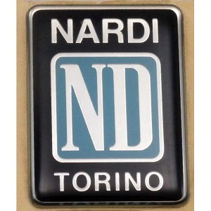 "Nardi ""ND"" Torino Logo 32mm x 43mm BRAND NEW MADE IN ITALY - Part # 0352.00.0003"